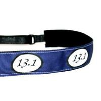 13.1 Half Marathon Navy Blue Headband