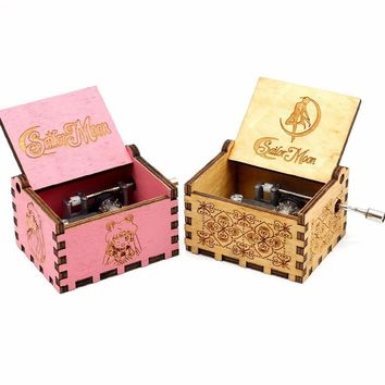 2018 New Pink Music Box La La Land Jack From Pirates Beauty And The Beast RainBow Davy Jones Let It Go Suitable Christmas Gift