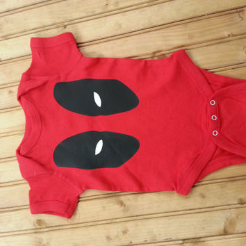 Super villain baby body suit