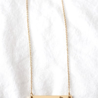 California State Love Necklace