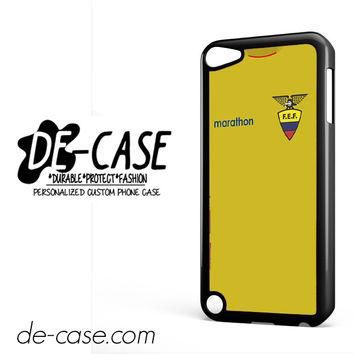 Ecuador Soccer Jersey For Ipod 5 Ipod Touch 5 Case Phone Case Gift Present YO