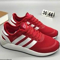 ADIDAS woven fly line fashion personality sneakers F-CSXY red