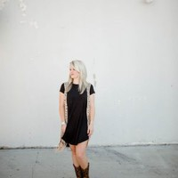 Everyday Little Black Pocket Dress