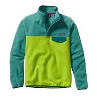 Patagonia Women's Lightweight Synchilla® Snap-T® Pullover | Peppergrass Green