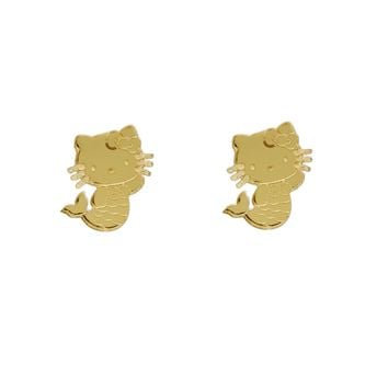 Hello Kitty Mermaid Studs