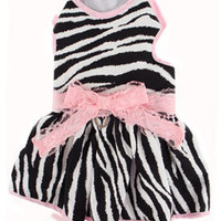 Dog Dress- Chihuahua Clothes, Yorkie Clothing, Puppy Clothes, Harness Dresses, Soft Harnesses