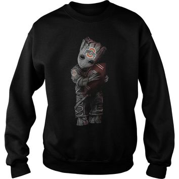 Groot hug Ohio state football club shirt Sweat Shirt