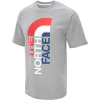 THE NORTH FACE Men's USA Logo Short-Sleeve T-Shirt