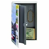 STEELMASTER Travel Book Safe with Keyed Lock, 9.44 x 6.18 x 2.22 Inches, Multicolored (221269203)