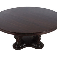 Handmade Large round Spanish style dining Table - 6ft Round