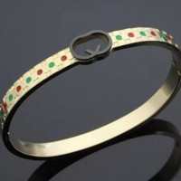 GUCCI bracelets fashion student lovers tie steel bracelets