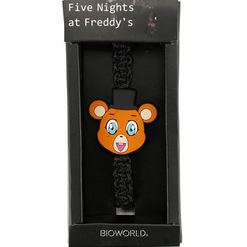 Five Nights At Freddy's Freddy Cord Bracelet