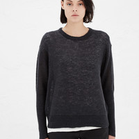 Totokaelo - Hope Dark Grey Eagle Sweater - $283.00