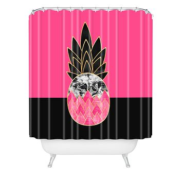 Elisabeth Fredriksson Precious Pineapple 2 Shower Curtain