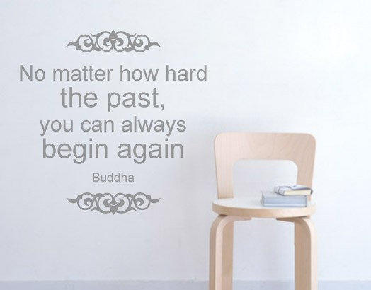 Buddha Quote Decal by Casadart on Etsy