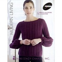 S. Charles Collezione Modern Living Knitting Pattern Book