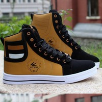 Men's Fashion High Top Side Zips
