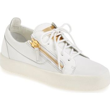 Giuseppe Zanotti 'May London' Snake Embossed Low Top Sneaker (Women) (Nordstrom Exclusive Color) | Nordstrom