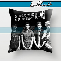 5 Second Of Summer Personil on Decorative Pillow Covers