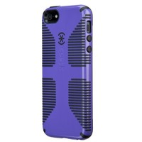 Speck Products CandyShell Grip Case for iPhone 5 & 5S  - Grape Purple/Black