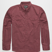 Retrofit Kennedy Boys Shirt Burgundy  In Sizes