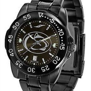 Penn State Fantom Mens Watch Gunmetal Finish Black Dial