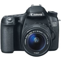 Canon 8469B002 EOS 70D Digital SLR Camera - 20.2MP - No Lens