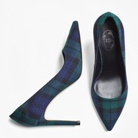 Black Watch Wool Pumps - Brooks Brothers
