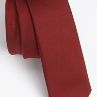 Men's Topman Textured Woven Tie - Red