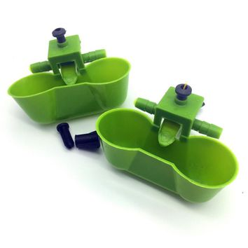 50 Sets New Bird Tools Quail drinking Pigeon cups Chicken water bowls Parrot Pigeon Bird Feeder Free shipping