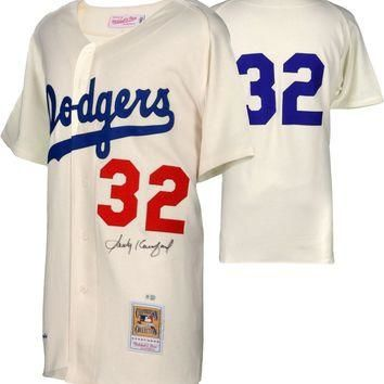 Sandy Koufax Signed Autographed Los Angeles Dodgers Baseball Jersey (MLB Authenticated