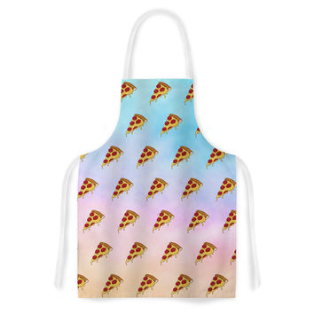 "Juan Paolo ""Lucid Pizza"" Food Pattern Artistic Apron"