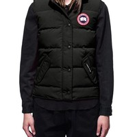 Canada Goose fashion women winter FREESTYLE VEST/black