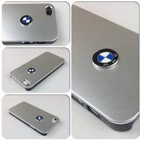 iPhone 5 cover BMW Sport Car Logo Carbon Aluminum by McityGraphic