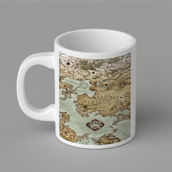 Gift Mugs | Epic Map Ceramic Coffee Mugs