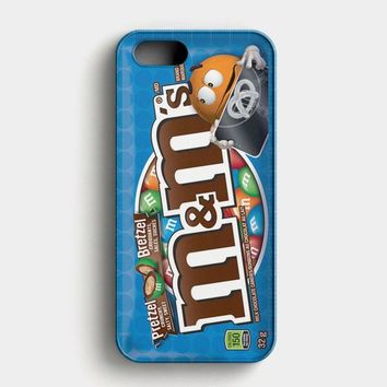 M&M Fretzel Chocolate Candies iPhone SE Case