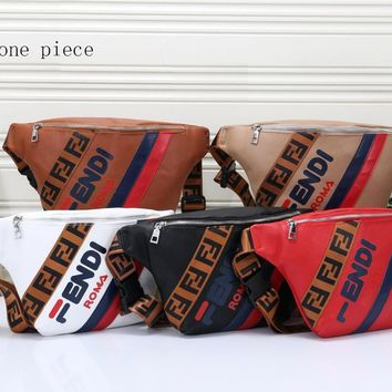 Fendi Fashion Hot Selling Coloured and Coloured Men's and Women's Wallets