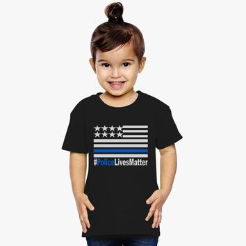 Police Lives Matter Toddler T-shirt