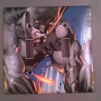 Batman Comic Book Light Switch Cover