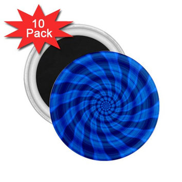 "Blueberry Twist 2.25"" Magnet (10 pack)"