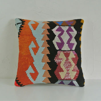 Turkish Kilim Pillow 001