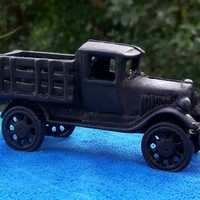 Vintage Cast Iron Pickup Truck Reproduction Replica
