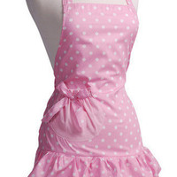 Marshmallow Pink Apron | Buy Cute Aprons