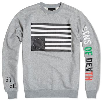 Black Scale 5150 Rebel Crew Neck Sweatshirt