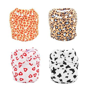 Baby Waterproof Diaper Cover Breathable Soft Washable Baby Cloth Nappy Newborn Diaper Cover Infant Diaper Training Underpants