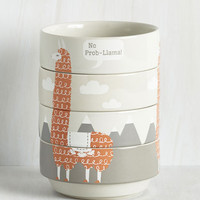 Critters Alpaca a Punch Bowl Set by ModCloth