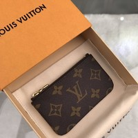 Kuyou Lv Louis Vuitton Fashion Women Men Gb19530 M62650 Key Pouch 12x7x1cm