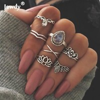7PCS Set Bijoux Boho Mid Ring Sets