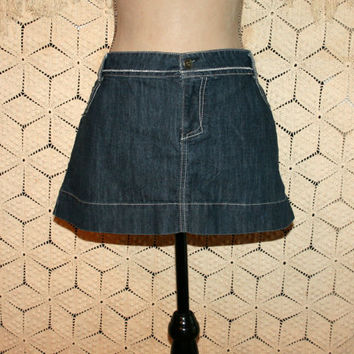 Plus Size Denim Mini Skirt Micro Mini Short Denim Skirt Ultra Mini Plus Size Skirts Size 17 Junior Size 16 Skirt Womens Plus Size Clothing