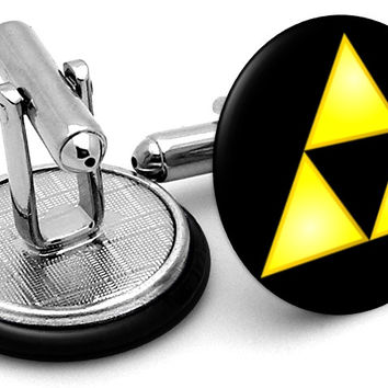 Zelda Triforce Cufflinks